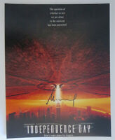 ROLAND EMMERICH signed 11x14 photo INDEPENDENCE DAY POSTER b