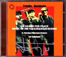 TEMIRKANOV Signed PROKOFIEV On Guard for Peace SHOSTAKOVICH Song of the Forests