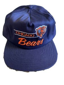 Vintage Annco Chicago Bears Snapback Hat NWT NFL