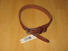 Polo Ralph Lauren Men's Brown Leather Bracelet with Tags New!