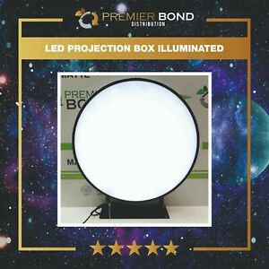 LED PROJECTION BOX  ILLUMINATED OUTDOOR SHOP SIGN WATERPROOF