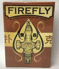Firefly Serenity Sci Fi Playing Cards from the 'Verse Ben Mund Quantum Mechanix