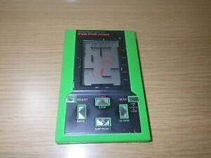 Epoch Pocket digit lcd game Pak-Pak Man 2 LCD Handheld Electronic Game Japan