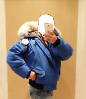 NEW SPECIAL EDITION POLAR BEAR CANADA GOOSE BLUE LABEL PBI CHILLIWACK XL PARKA