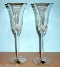 Waterford Giselle Champagne Flute Pair (2) Made in Ireland New In Stock