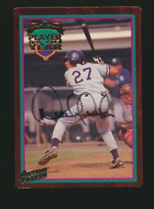 1995 Action Packed Minor League Player of the Year Derek Jeter Diamond Auto 1D