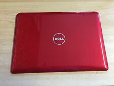 DELL INSPIRON MINI 10 1011 SERIES GENUINE TOP LCD LID COVER REAR BACK RED 0M981P