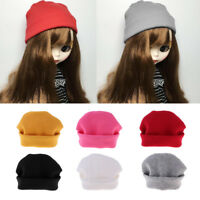 1:6 Fashion Colorful Woolen Hat Soft Touch for Blythe Doll Girl Clothes Accs