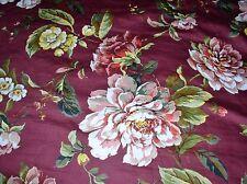 Linen Source Floribunda Queen Duvet Cover & 2 King Shams Pretty 4 Christmas