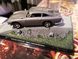 James bond 007 model car aston Martin DB5 goldfinger