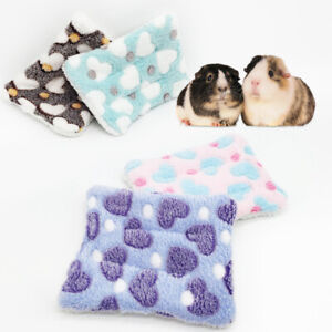 Warm Mat Small Animal Bed House Winter House Nest Hamster Rabbit Pet Accessories
