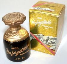 Avon UNFORGETTABLE Perfume OIl .5 fl oz 1965 Miniature Perfume Bottle NOS NIB