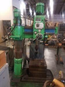 """Radial arm drill press 3' x 30"""""""