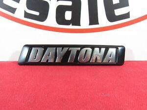 DODGE CHARGER Chrome & Black Front Grille Daytona Badge NEW OEM MOPAR