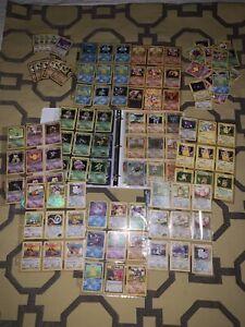 Pokemon Card Collection Lot Binder Wotc Base Set 40+ 1st Editions 25+ Holos