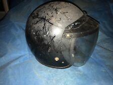 Vintage motorcycle equestrian bike HELMET 1960's / 1970's Bell? Snell foundation