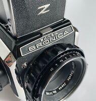 Zenza Bronica S2 Nippon Kogaku Japan Nikkor-P 1:2.8 f=75mm magazzino lente
