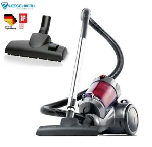 New 2400W Multi Cyclonic Vacuum Cleaner with German Wessel Energy Efficient head