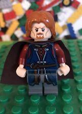 Lego Lord of the Rings Hobbit BOROMIR  Minifigure 9473 Mines of Moria LOTR
