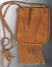 Vintage Western-Style Men's Shoulder Pouch - Three-Strap, Great Costume Piece