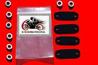 Suzuki GSF1200 GSF 1200 Bandit Exhaust Emissions Plate Smog PAIR Block Off Kit