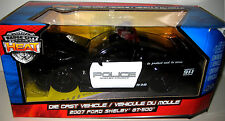 JADA BADGE CITY HEAT 2007 FORD SHELBY GT500 1:24 POLICE GT-500 MIB New