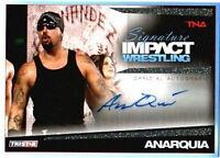 TNA Anarquia 2011 Signature Impact Autograph Silver /99