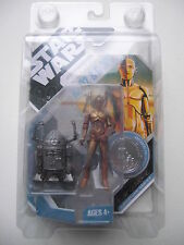 STAR WARS FIGURINE R2-D2 & C-3PO CONCEPT R.MC QUARRIE 30 th ANNIVERSARY RARE