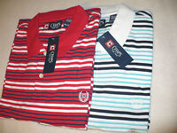 $45 NEW NWT CHAPS by RALPH LAUREN MEN'S POLO SHIRT SIZE SZ S L XL S/S COTTON