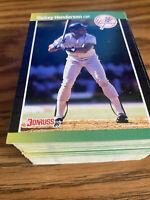 (100) 1989 Donruss Rickey Henderson #245 Oakland Athletics NR-MT+ Recent Breaks