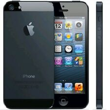 "Apple Iphone 5 32GB 4G LTE 4"" Factory Unlocked GSM Smartphone Black - USED"