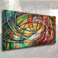 M. Lang Abstract Art Modern CONTEMPORARY Painting Mounted Giclee Canvas Print