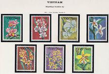VIETNAM N°499/505** FLEURS ORCHIDEES 1984, Vietnam  #1378-1384 ORCHIDS MNH