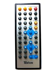 TEVION TWIN SCREEN CAR DVD PLAYER REMOTE CONTROL for 4112