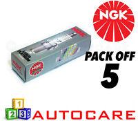 NGK Laser Platinum Spark Plug set - 5 Pack - Part Number: BKR5EKUP No. 2890 5pk