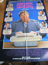 Delirious (John Candy) -1991 - Original USA 1 Sheet Poster