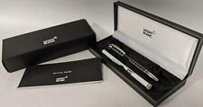 SUPER Montblanc StarWalker Grid Rubber Metal Fineliner /Rollerball Pen 8856 +BOX