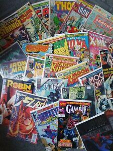 10x Random Comic Book Lucky Dip! DC Marvel from a Job Lot Bundle no duplicate