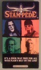 wcw SPRING STAMPEDE  1999  VHS VIDEOTAPE