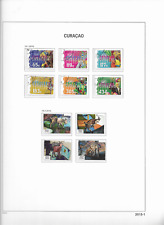 2015 USED Curaçao year collection (7 scans)