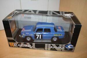 "Solido ""Racing"" #9014.01 1:18 1968 Renault Gordini R8 #71 Rallye du Maroc NEUF"