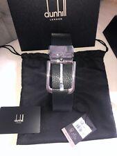 🎁New Dunhill Belt - Men Leather Reversible Black 42size (Adjustable)