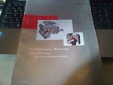 AUDI 3.3 V8 TDI MOTORE MECCANICA MASERATI Training Workshop Manuale