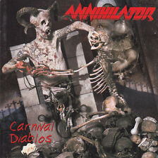 CD , Annihilator, Carnival Diablos NEW CD  JEWEL CASE