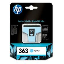 HP Hewlett Packard HP 363 Cartuccia di Inchiostro Ciano Chiaro C8774EE 2016 data Full Size