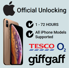 Fast Unlocking Service For iPhone 6S 7 7+ 8 8+ X on O2 Tesco UK. 24-72 hours!