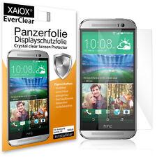 2x EverClear Panzerfolie Display Schutzfolie für HTC One M8 Anti-Shock