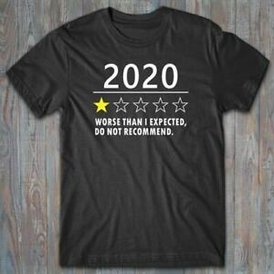 Cool T-shirt 2020 YEAR REVIEW - Health crisis, quarantine, self isolation gift