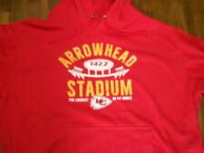 Kansas City Chiefs Arrowhead Stadium Hooded Sweatshirt 2XL EUC