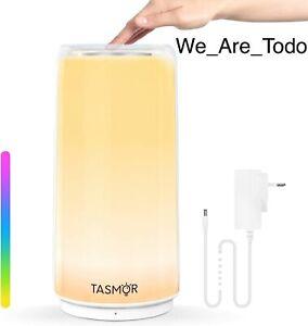 TASMOR LED Touch Control Lamp - Multi Colour - Night Light Dimming - Music Mode